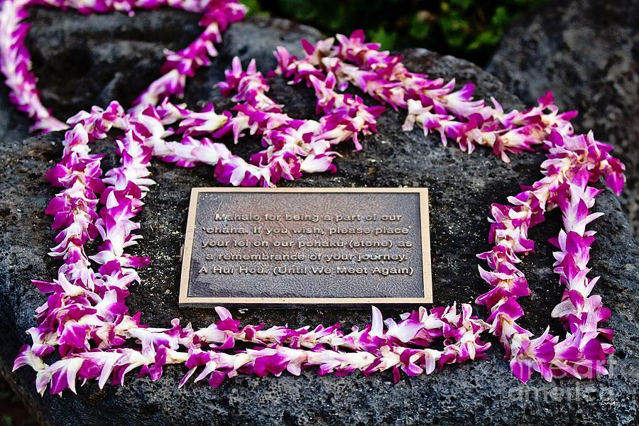 Pohaku Photograph - A Hui Hou by Scott Pellegrin