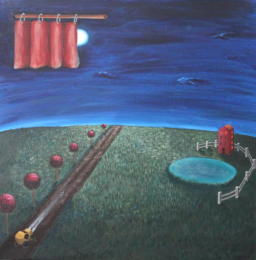 Night Painting - A Journey by Margarita Gokun