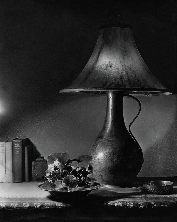 A Jug Lamp Photograph by Joseph B. Wurtz
