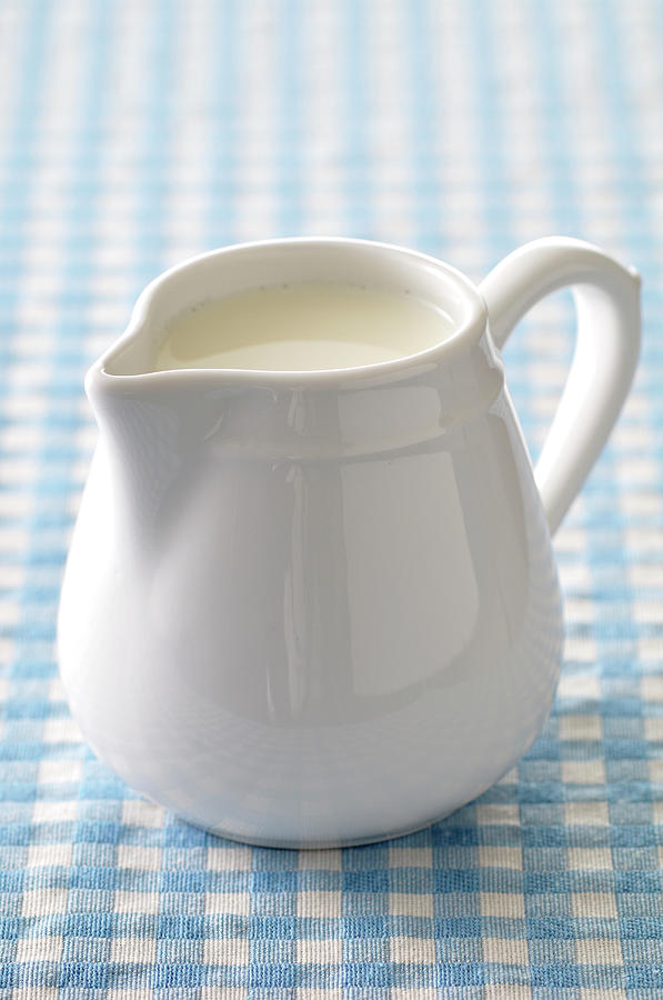 A Jug Of Cream Photograph by Riou