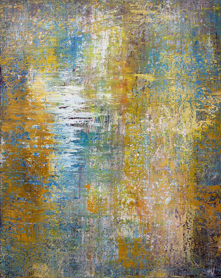 Impressionist Painting - Opt.52.14 A Kind Of Magic by Derek Kaplan