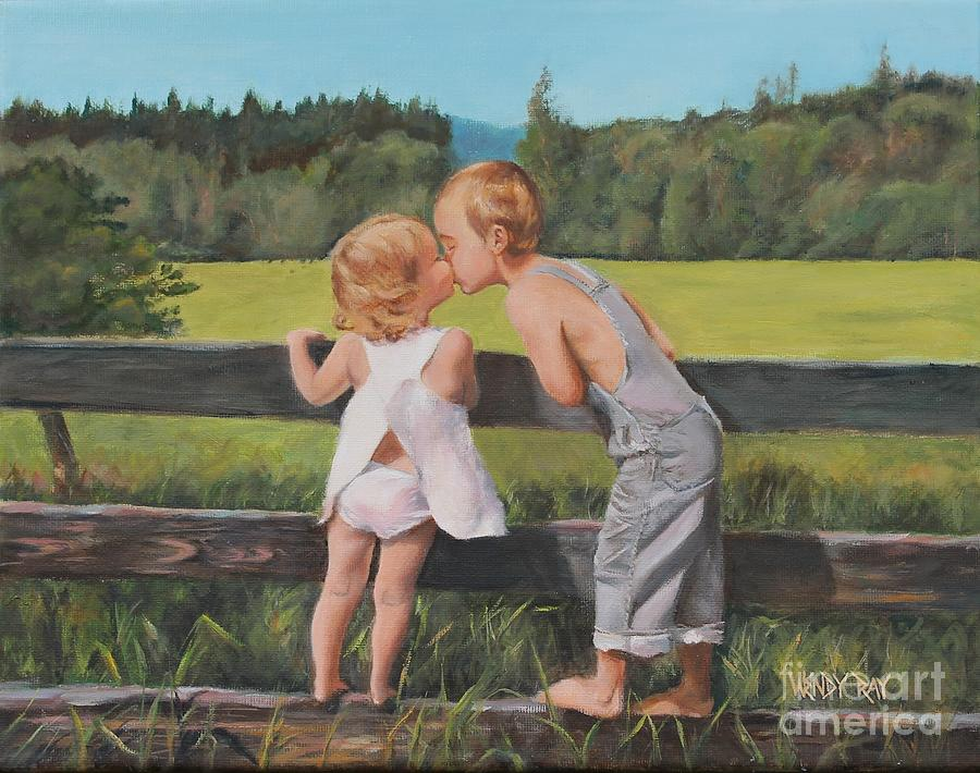 A Kiss For Little Sister by Wendy Ray