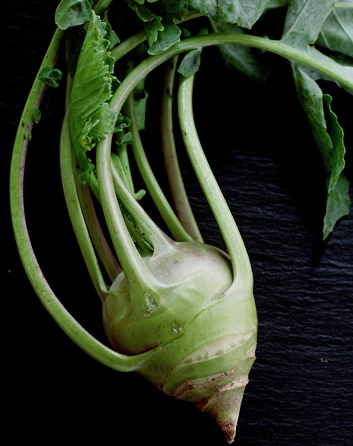 A Kohlrabi Photograph by Romulo Yanes