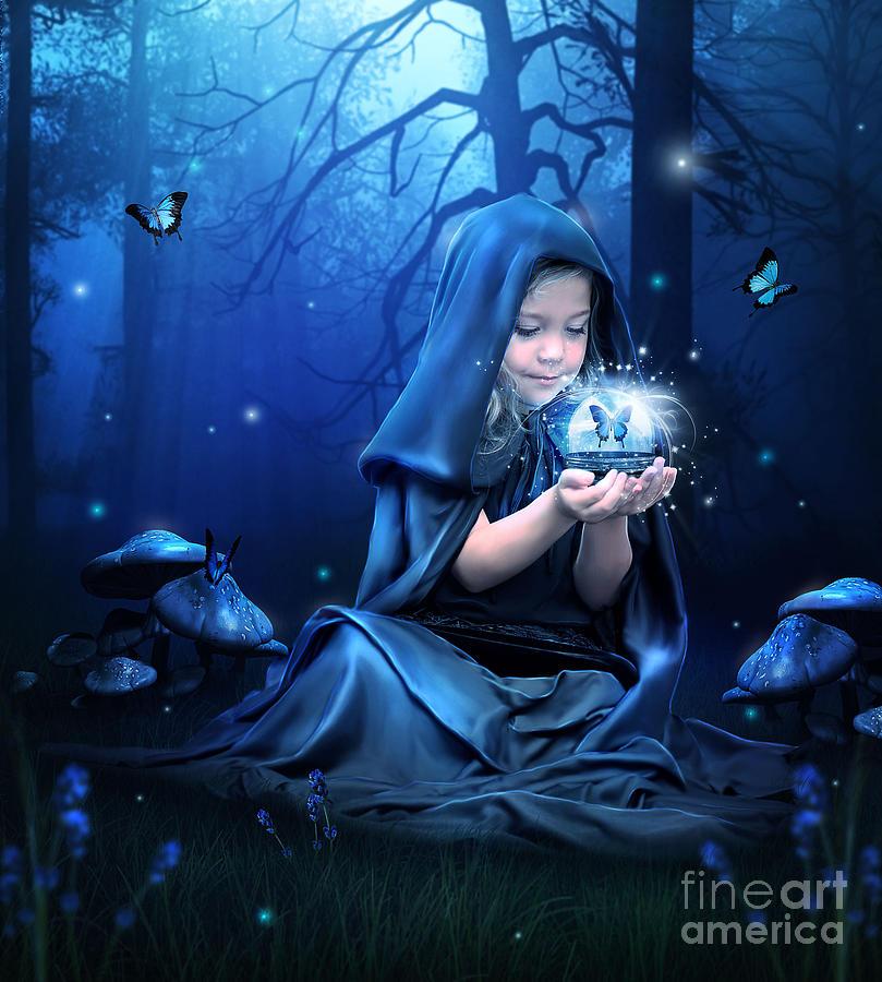 A Little Magic Digital Art by Jessica Allain