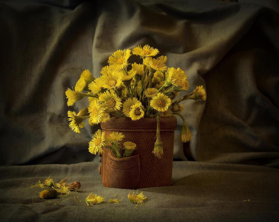 Bouquet Photograph - A Little Sun In My Pocket by Sviatlana Kandybovich