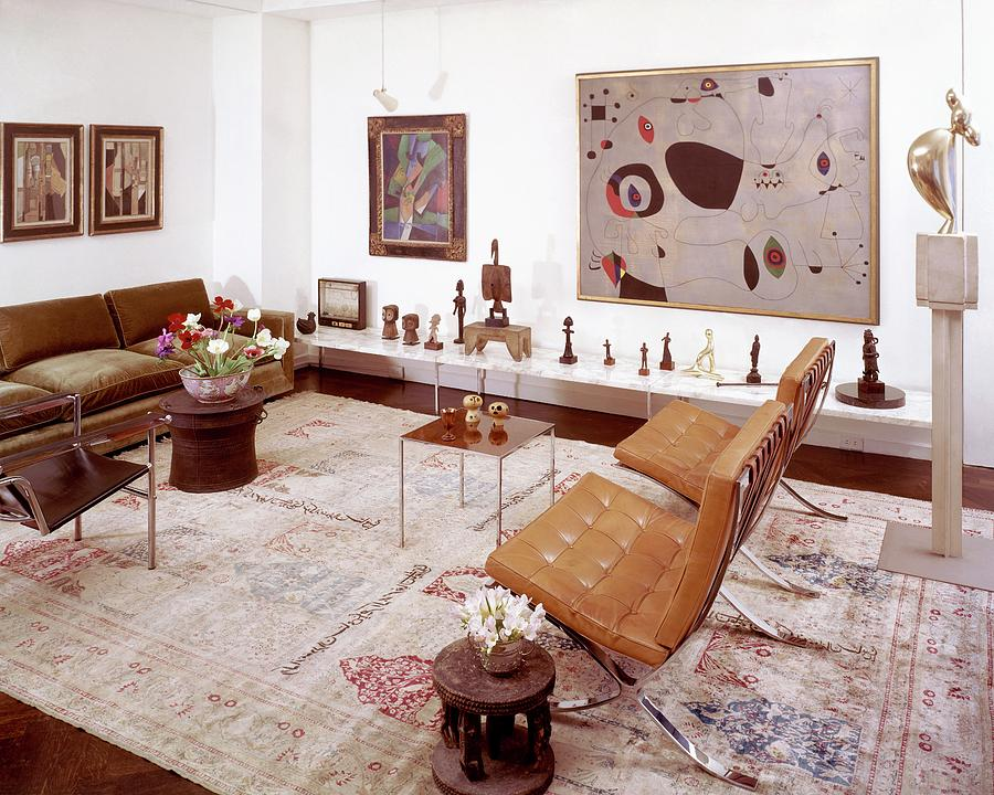 A Living Room Full Of Art Photograph by Wiliam Grigsby