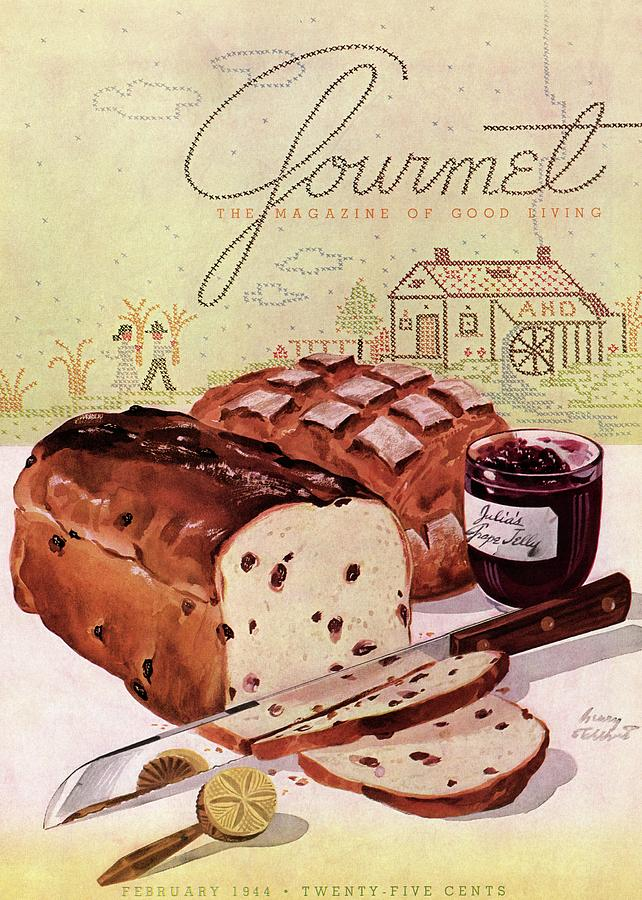 A Loaf Of Raisin Bread Photograph by Henry Stahlhut
