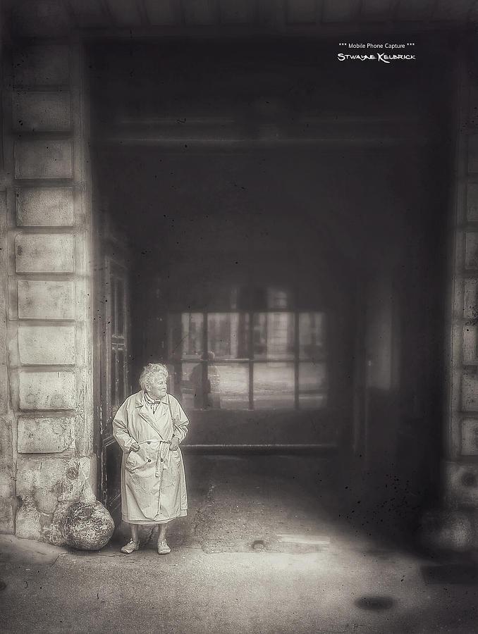 Black And White Photograph - A long boring wait... by Stwayne Keubrick