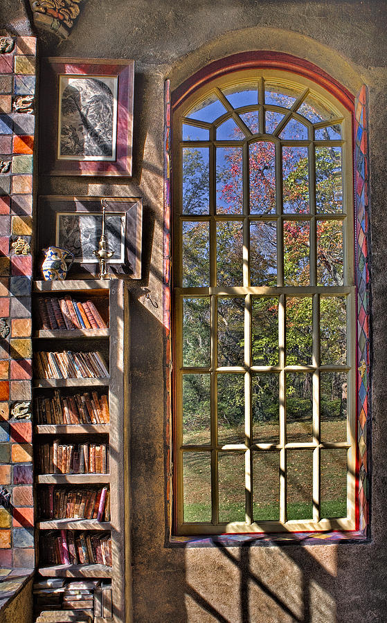 Byzantine Photograph - A Look From The Library by Susan Candelario