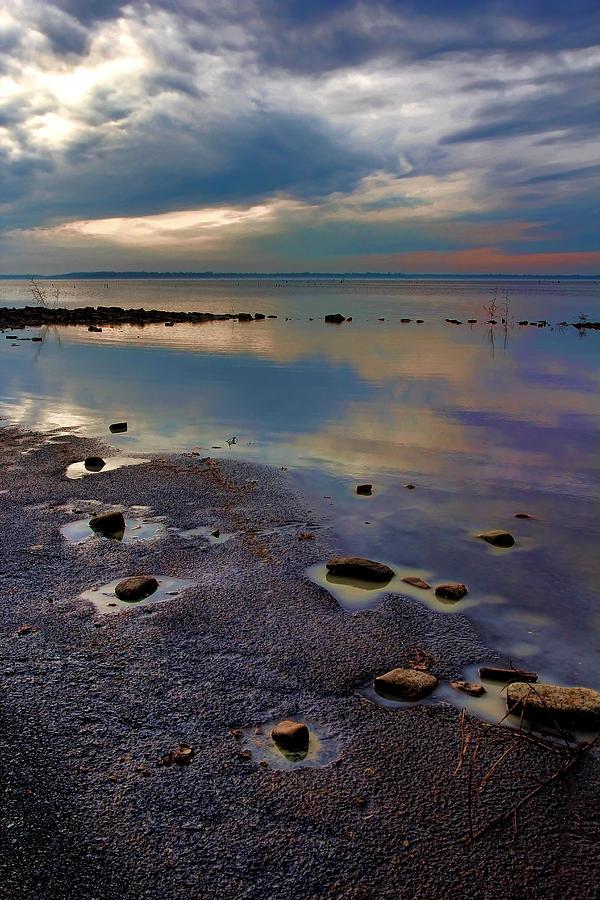 Sand Photograph - A Lotta Watta by Carolyn Fletcher