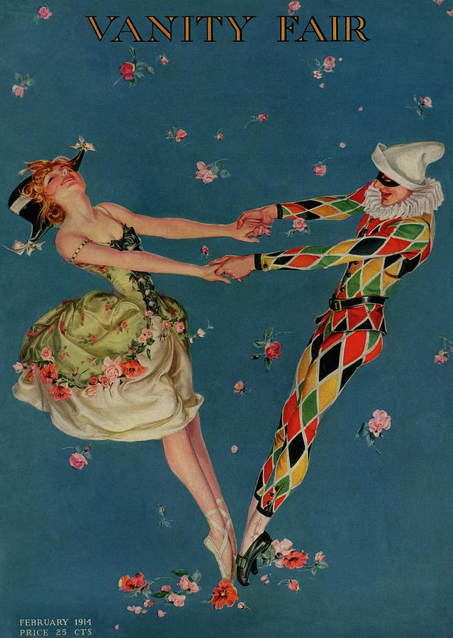 A Magazine Cover For Vanity Fair Of A Ballet Photograph by Frank X. Leyendecker