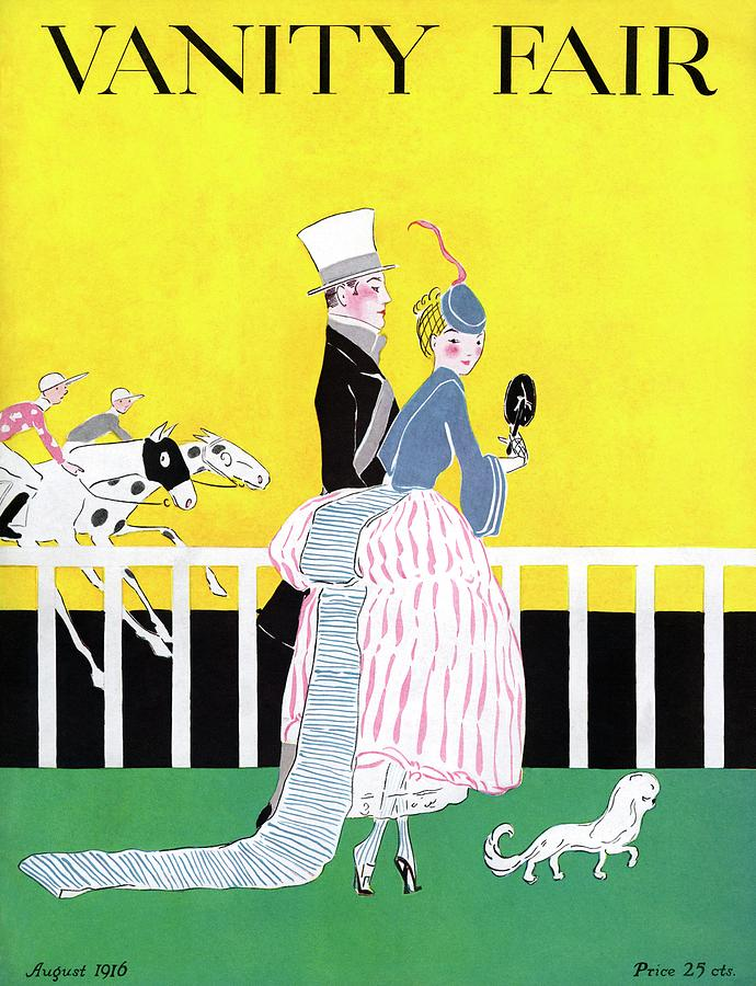 A Magazine Cover For Vanity Fair Of A Couple Photograph by Ethel Plummer