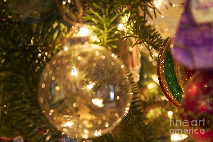 Christmas Ornaments Photograph - A Magical Time of Year by Mike Mooney