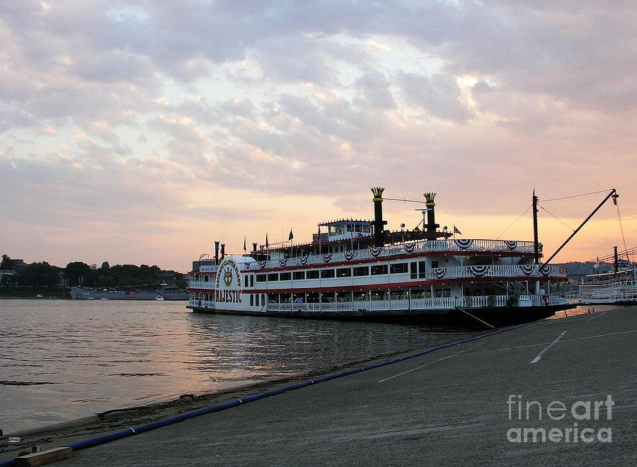Nostalgia Photograph - A Majestic Sunset by Mel Steinhauer