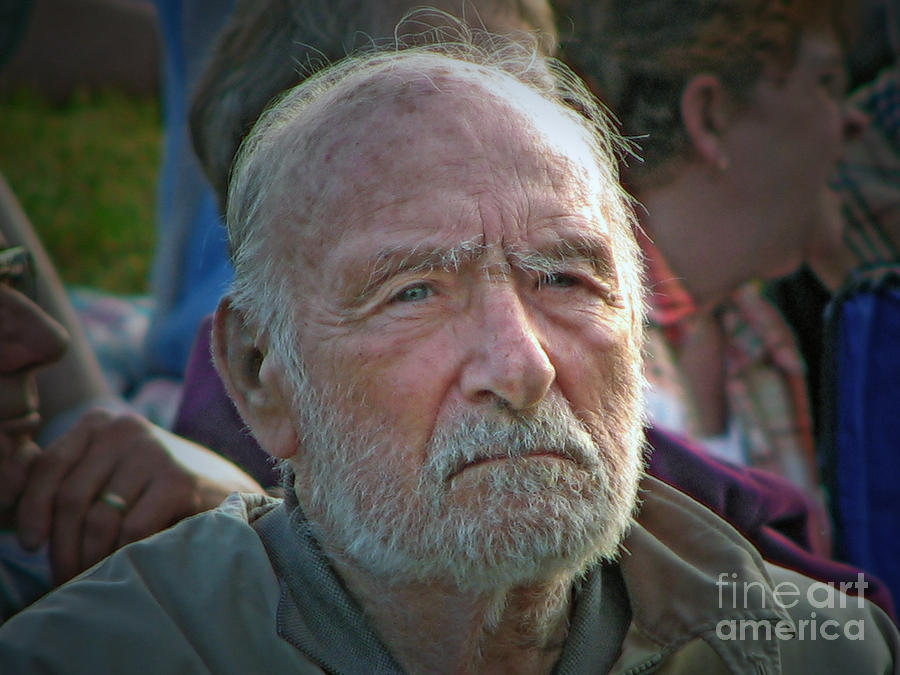 Portraiture Photograph - A Man Of Character by Chris Anderson
