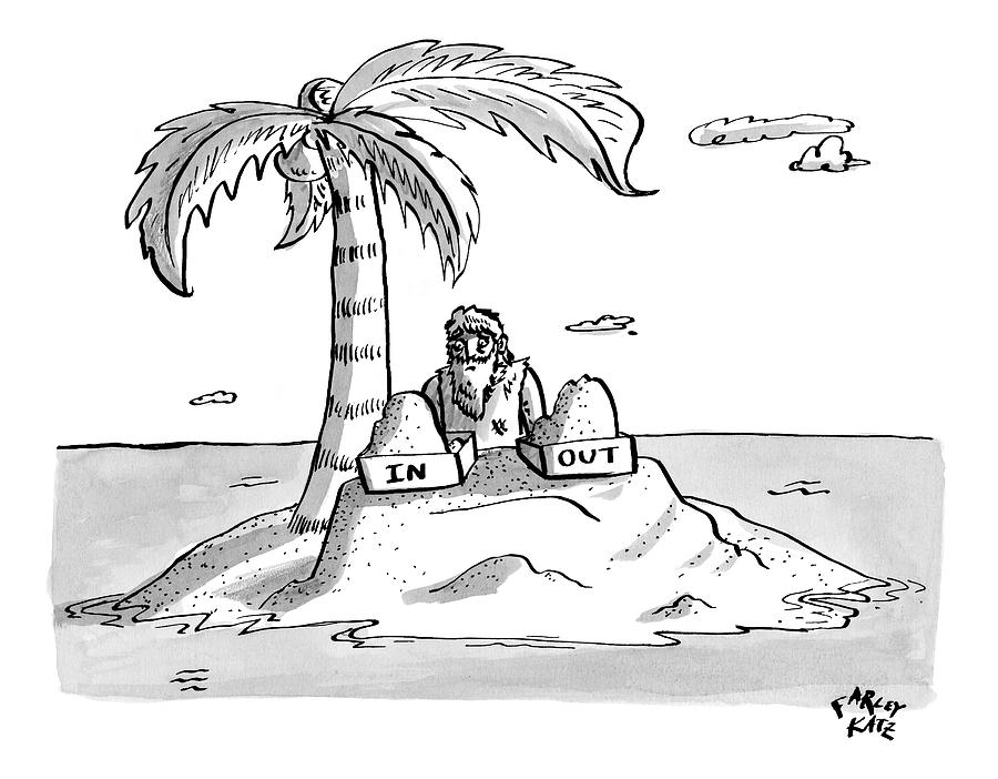 Deserted Island Drawing