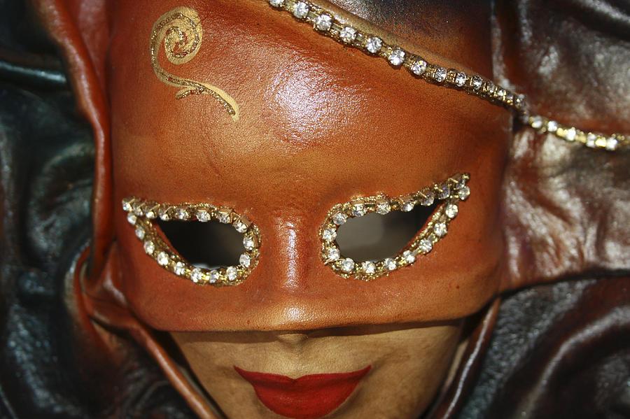 Mask Photograph - A Mask by Tommytechno Sweden