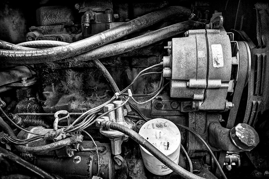 Fineart Photograph - A Mechanics View by Jeff Burton
