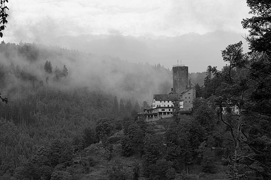 Castle Photograph - A Mighty Fortress by Martin Michael Pflaum