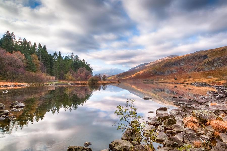 Landscape Photograph - A Mirror Image by Christine Smart