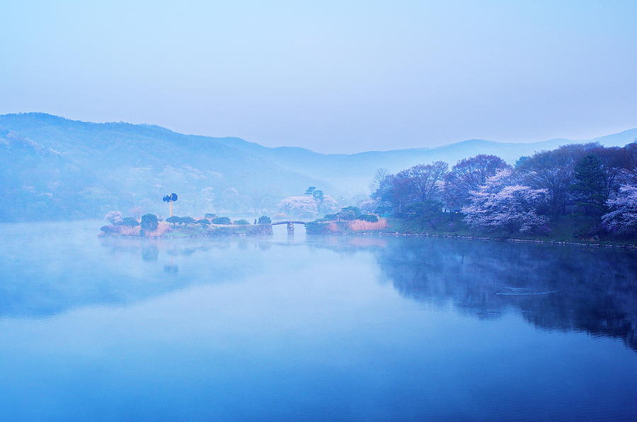 A Misty Morning Photograph by I Am Glad To Meet You ^^
