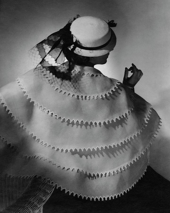 A Model Wearing Lanvin Photograph by Horst P. Horst