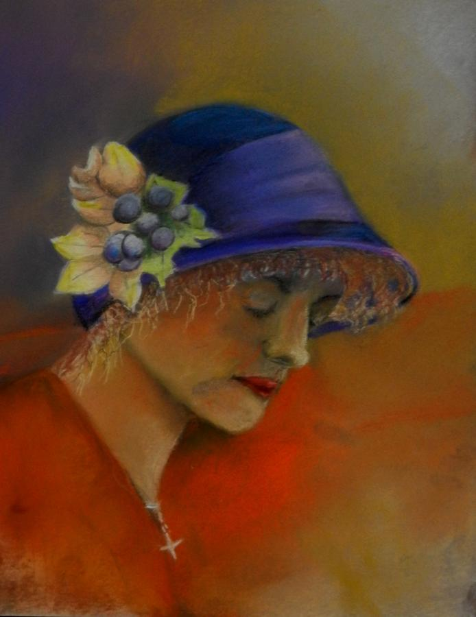 Lady Pastel - A Moment In Pray by Sandra Sengstock-Miller