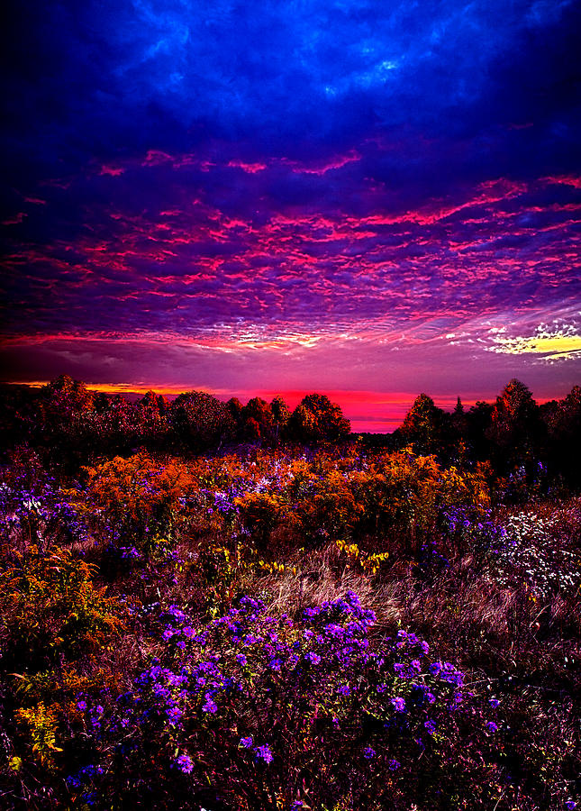 Horizons Photograph - A Moment by Phil Koch