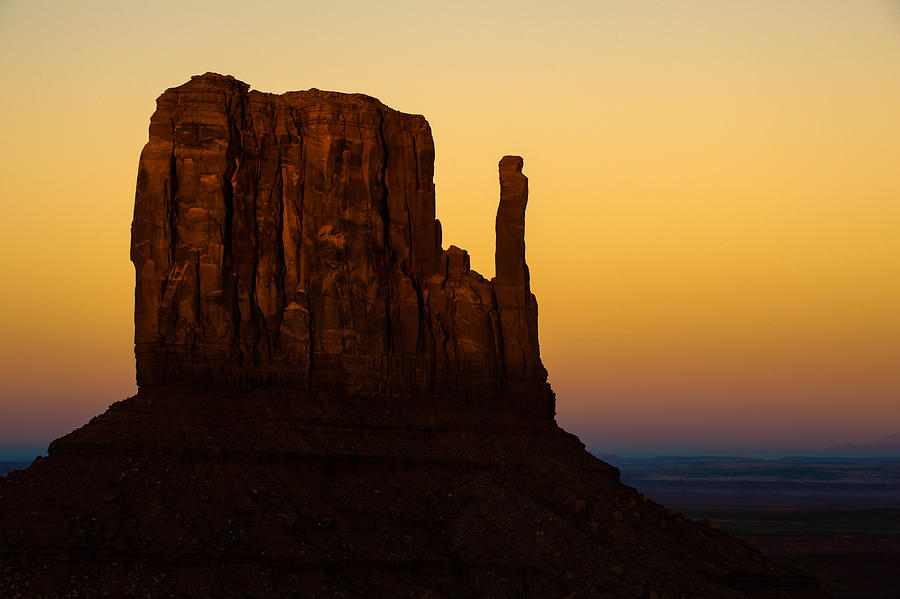 America Photograph - A Monument Of Stone - Monument Valley Tribal Park by Gregory Ballos