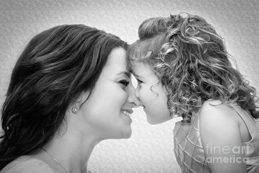 Mom Photograph - A Mothers Love by Christine Nunes