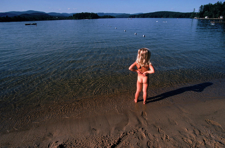 from Beckett naked toddler girls on a beach