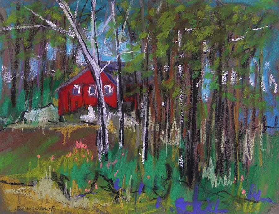 Red Barn Painting - A New Coat Of Paint by John Williams