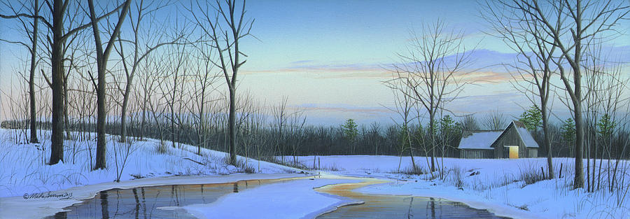 Landscape Painting - A New Dawn by Mike Brown
