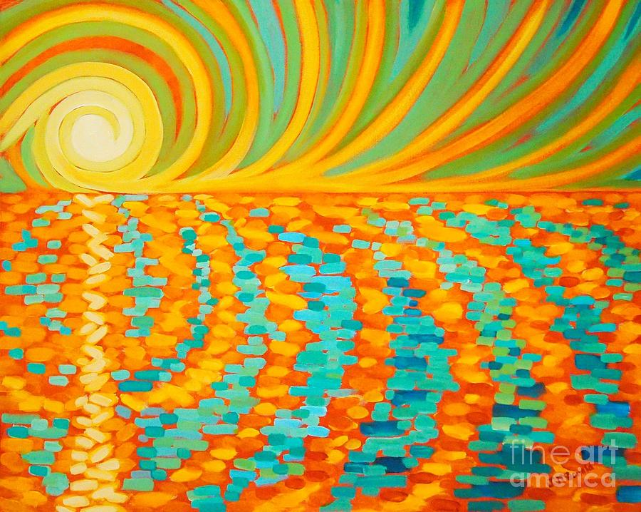 Sunrise Painting - A New Day Is Dawning by Janet McDonald