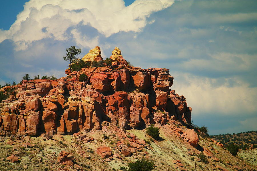 Rocks Photograph - A New Mexico View by Jeff Swan