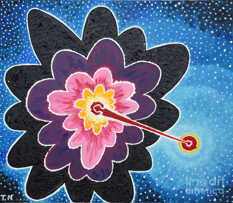 Star Painting - A New Star Is Born. by Taikan Nishimoto