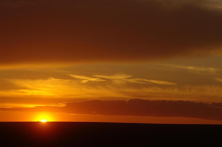 Sun Photograph - A Nice Cintemplative Sky  by Jeff Swan