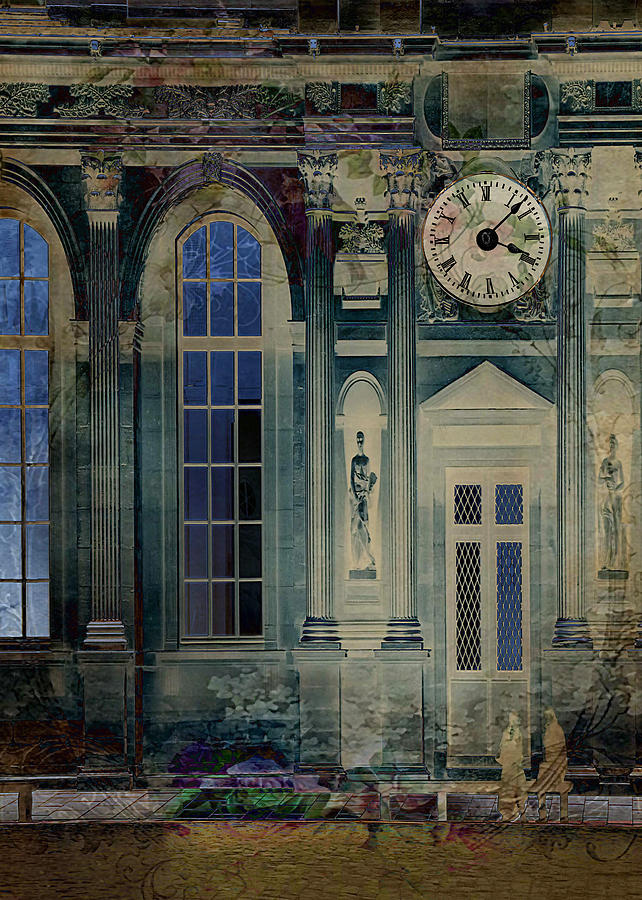Abandoned Digital Art - A Night At The Palace by Sarah Vernon