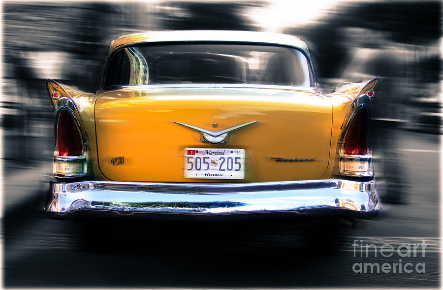 Car Photograph - A Packard Of Wings by Steven Digman