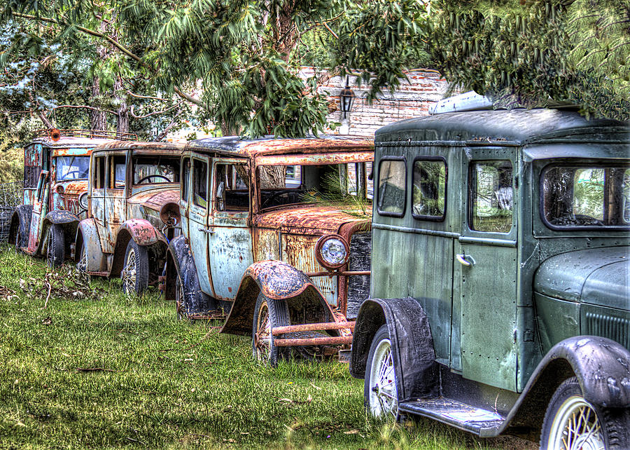 Antique Photograph - A Parade From The Past by Danny Pickens
