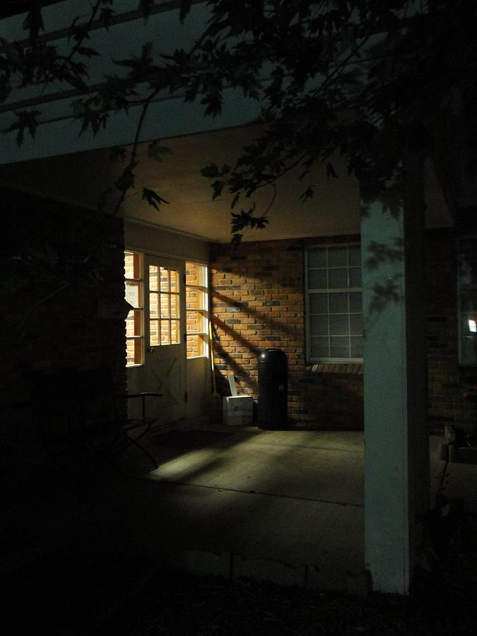 Door Photograph - A Peaceful Corner Entrance by Guy Ricketts