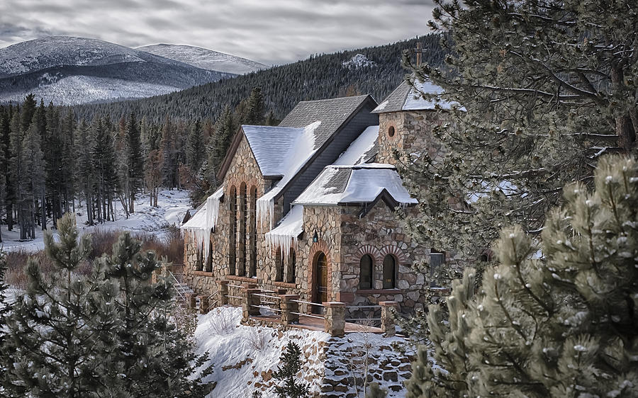 Architecture Photography Photograph - A Peaceful Place by Garett Gabriel