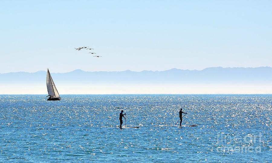 Susan Wiedmann Photograph - A Perfect Santa Barbara Day by Susan Wiedmann