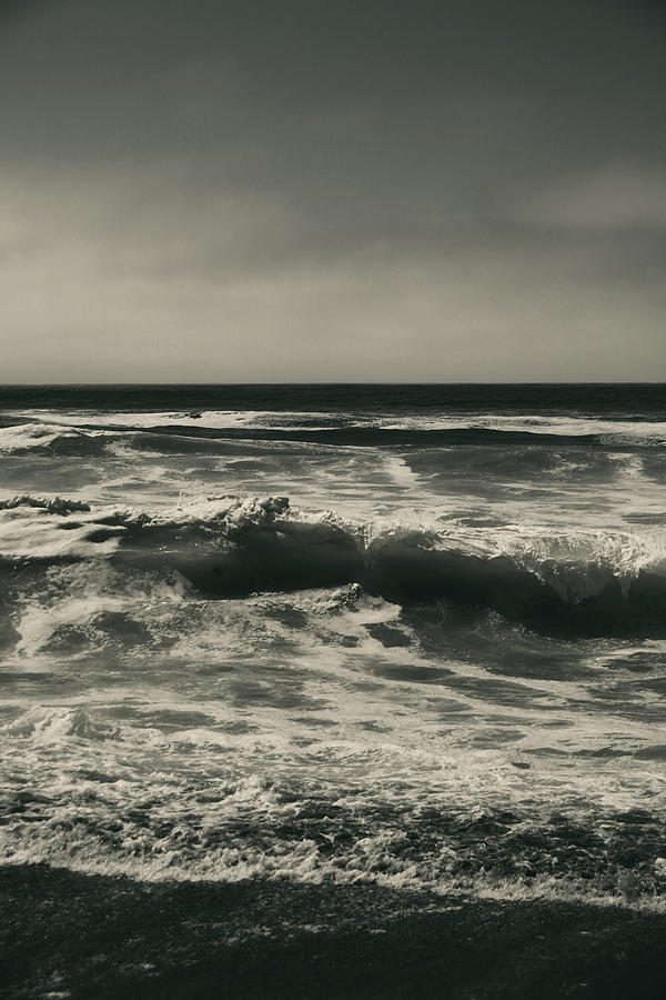 Manchester State Beach Photograph - A Permanent Sadness by Laurie Search