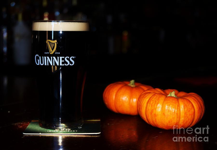 A Pint For Fall, Slainte Photograph by Marcus Dagan