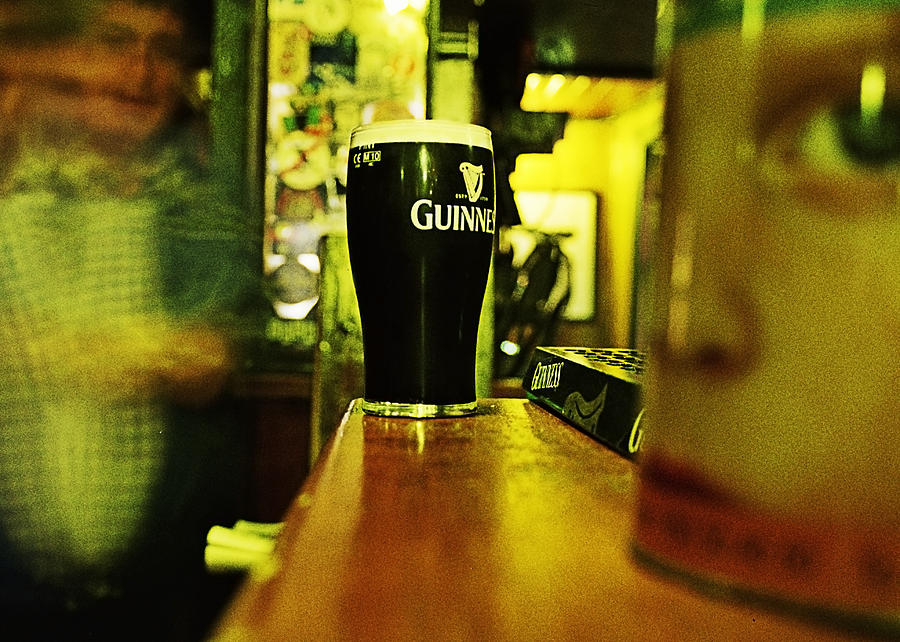 Guinness Photograph - A Pint by Tony Reddington