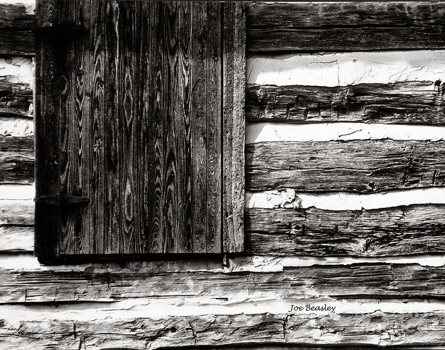Cabin Photograph - A Pioneer Flag by   Joe Beasley