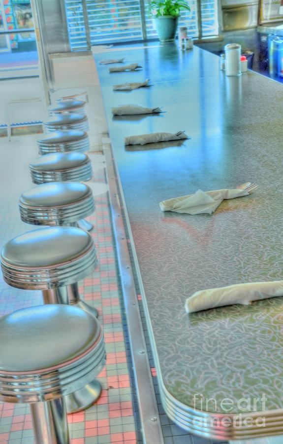 Counter Photograph - A Place To Eat by Kathleen Struckle