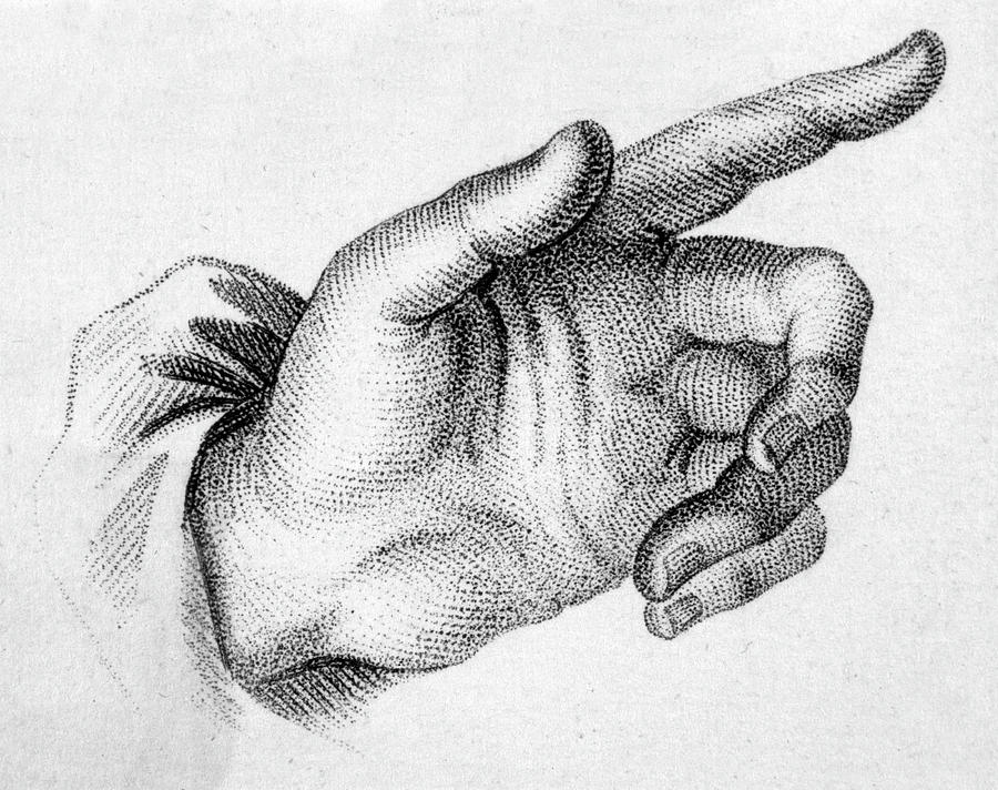 a pointing hand detail taken drawing by mary evans picture library a pointing hand detail taken by mary evans picture library