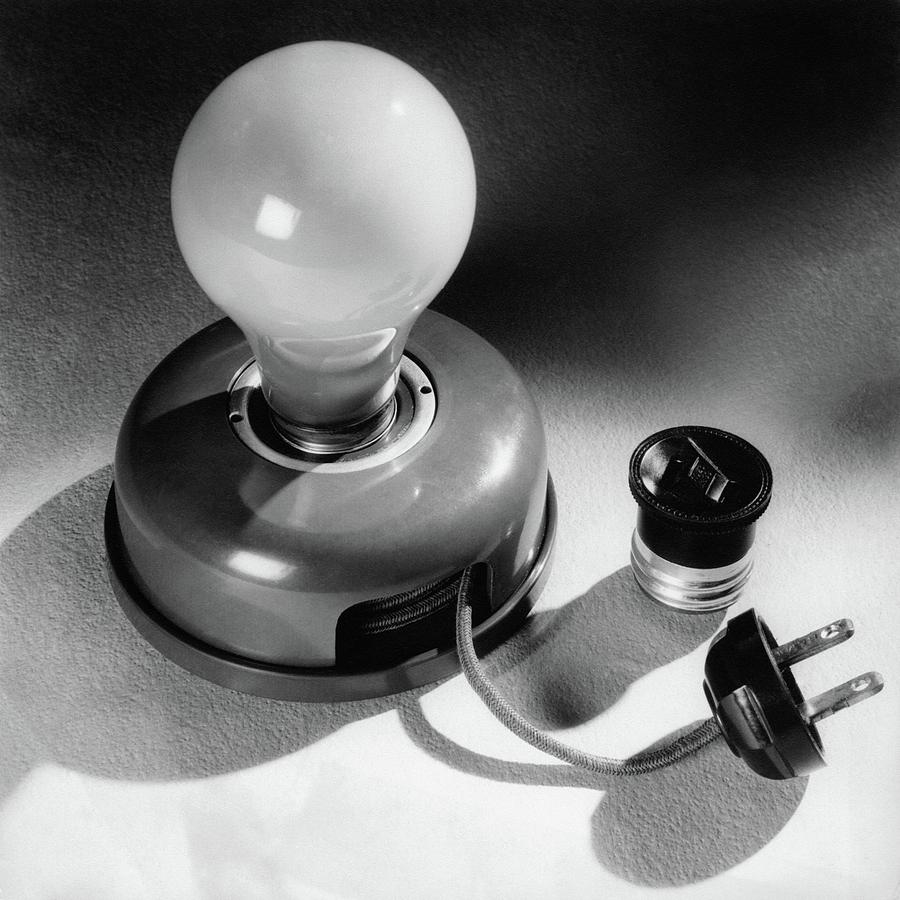 A Portable Light Socket Photograph by Maurice Seymour